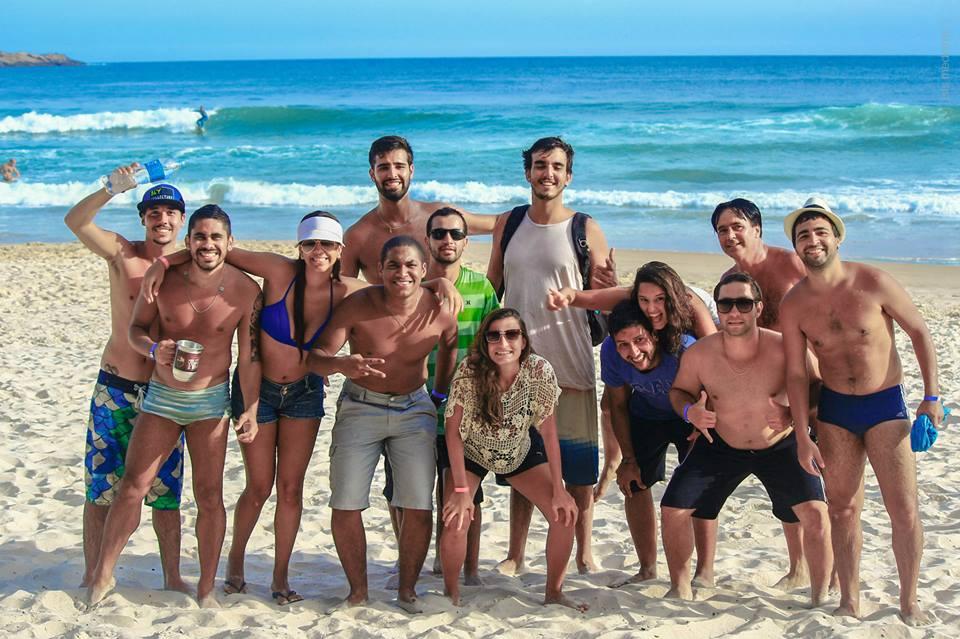 Amigos en brasil