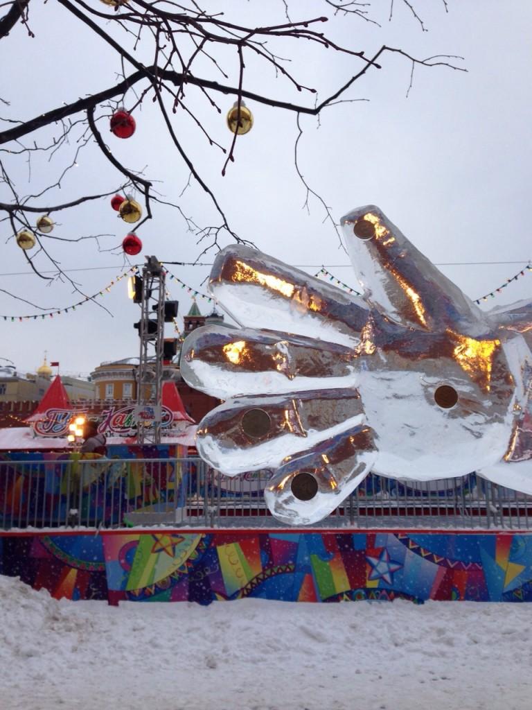 Plaza frente al mausoleo de Lenin