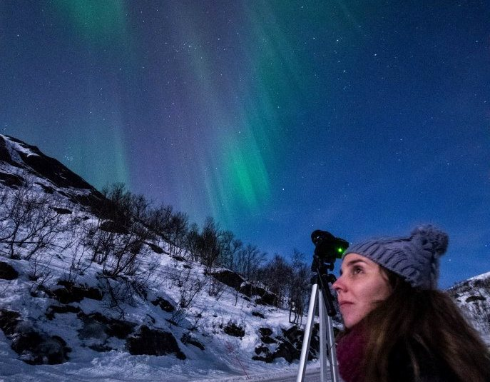 Camila y la aurora boreal