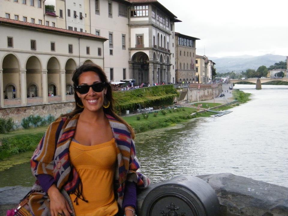 Pamela en Florencia