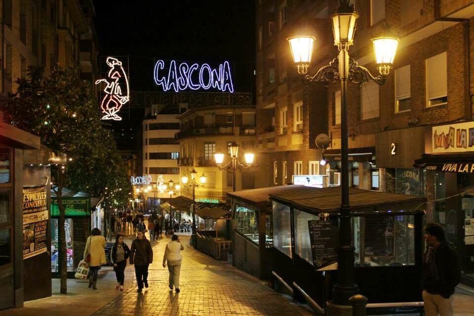 Boulevard de la sidra en Oviedo