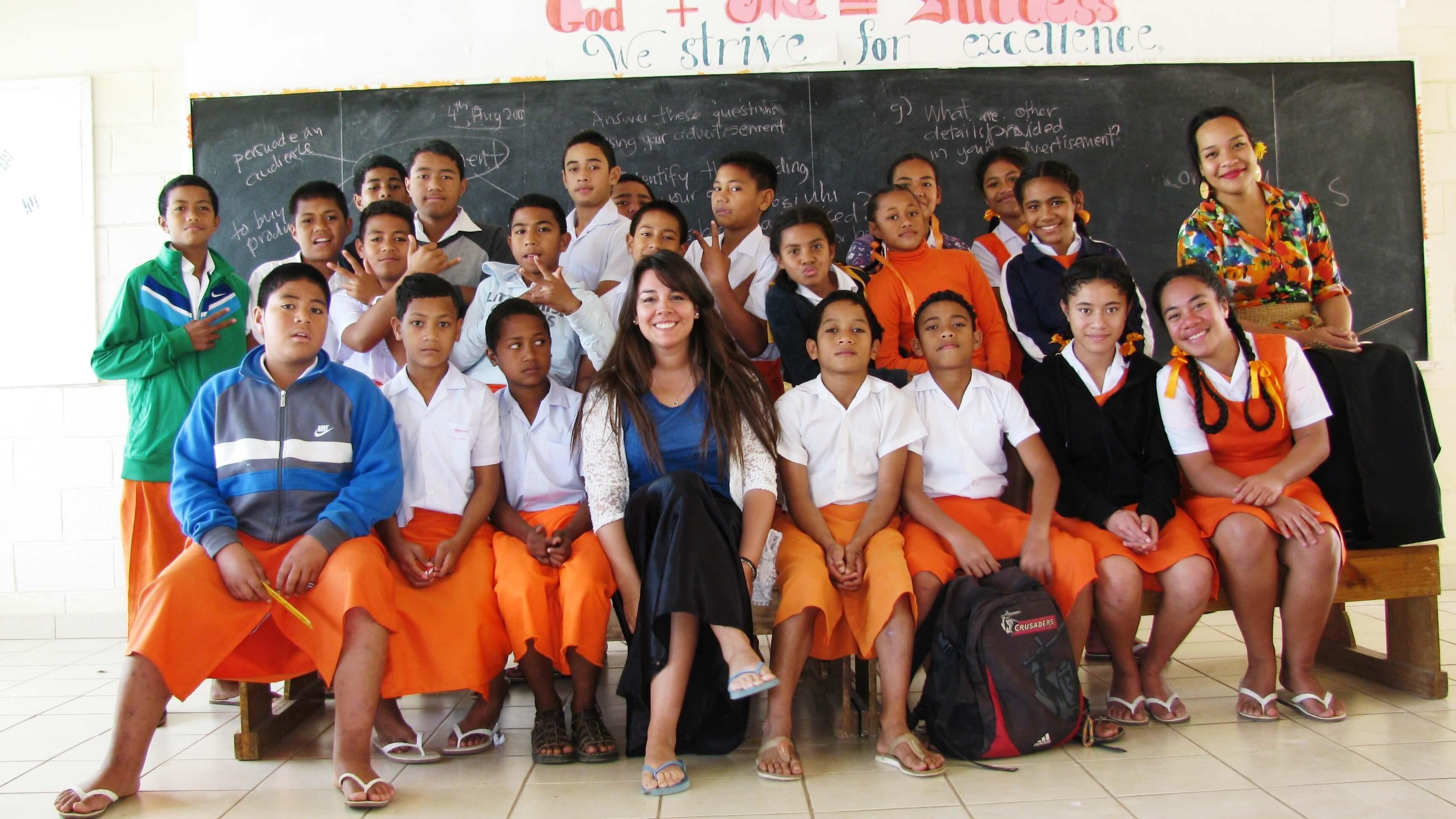 El voluntariado en Tonga que cambió mi vida