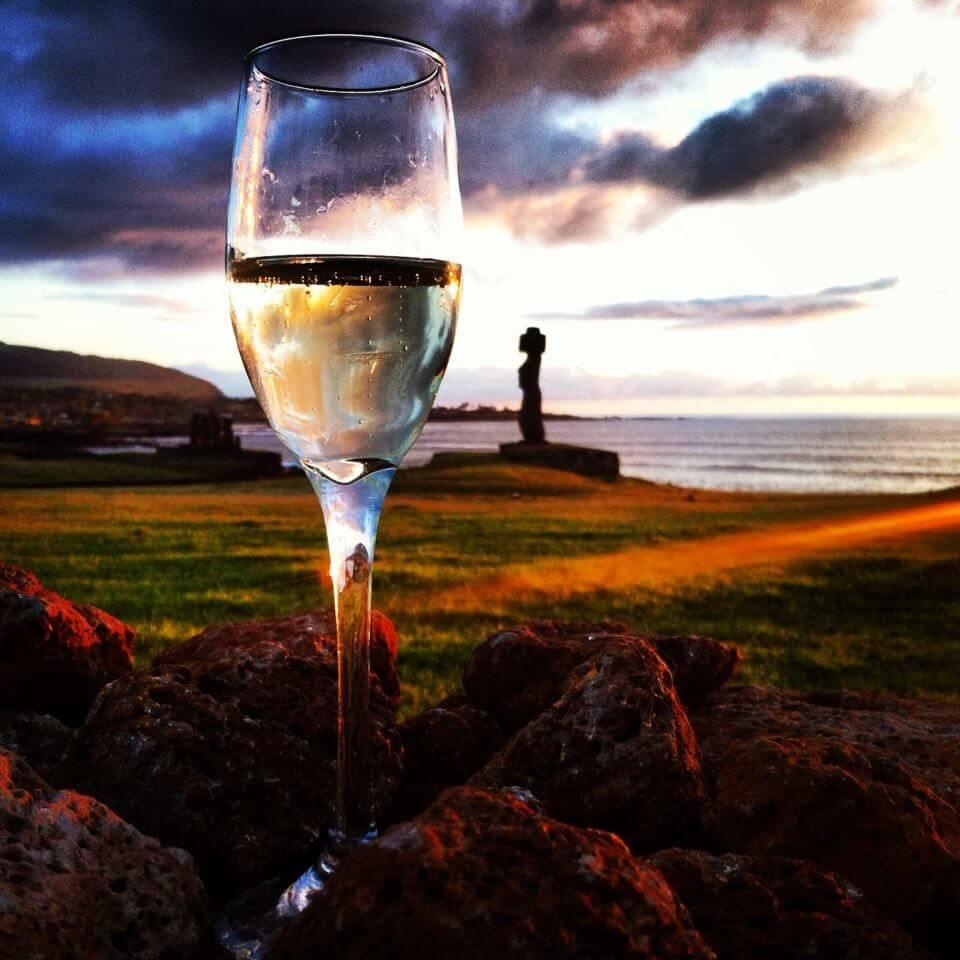 Atardecer Rapa Nui (Isla de Pascua).