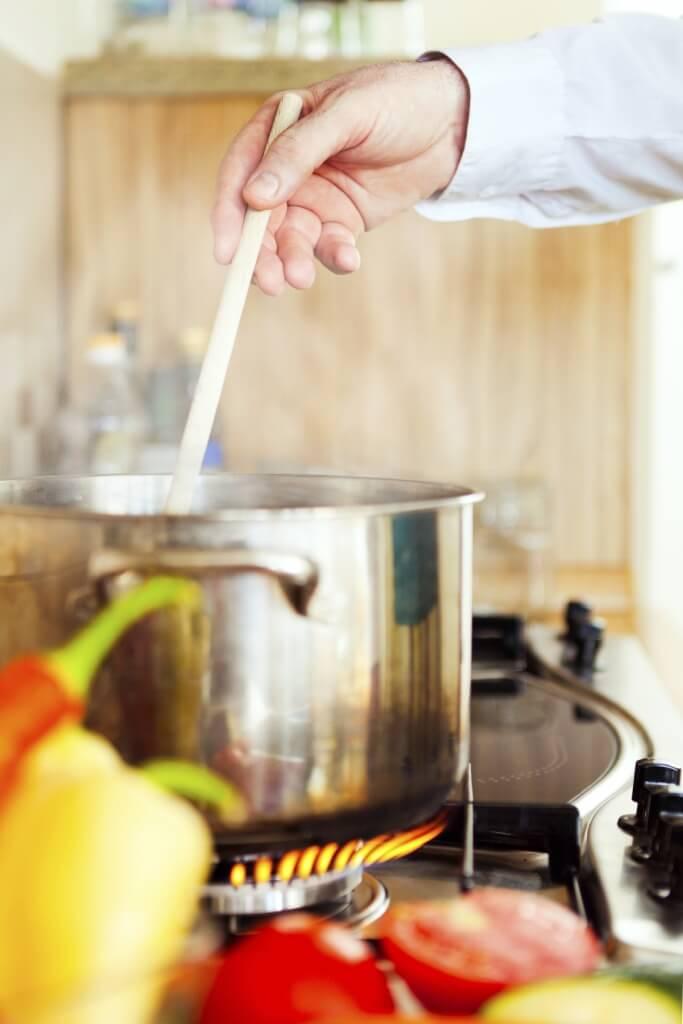 Cocinando sopa
