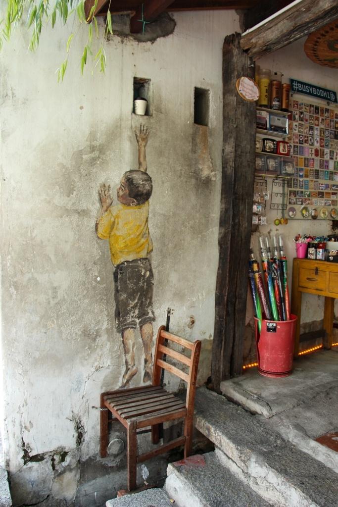 Street art en Penang, Malasia