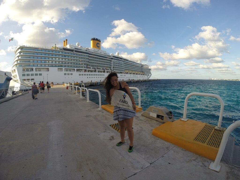 Dejé la mochila y me fui de crucero
