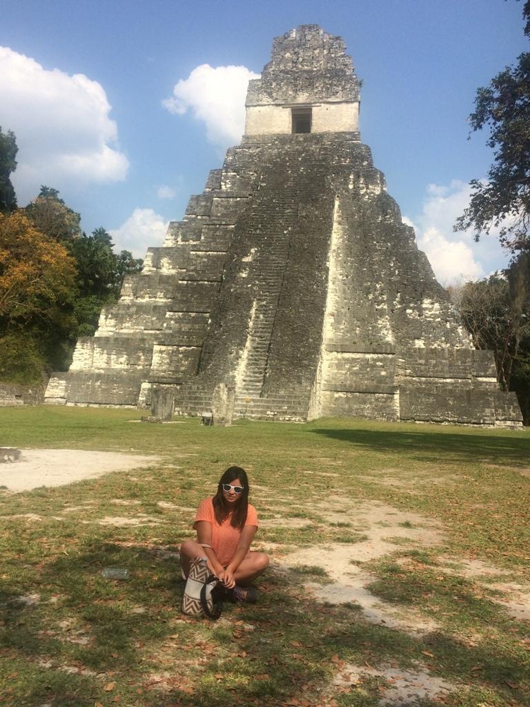 Pirámide en Tikal, Guatemala