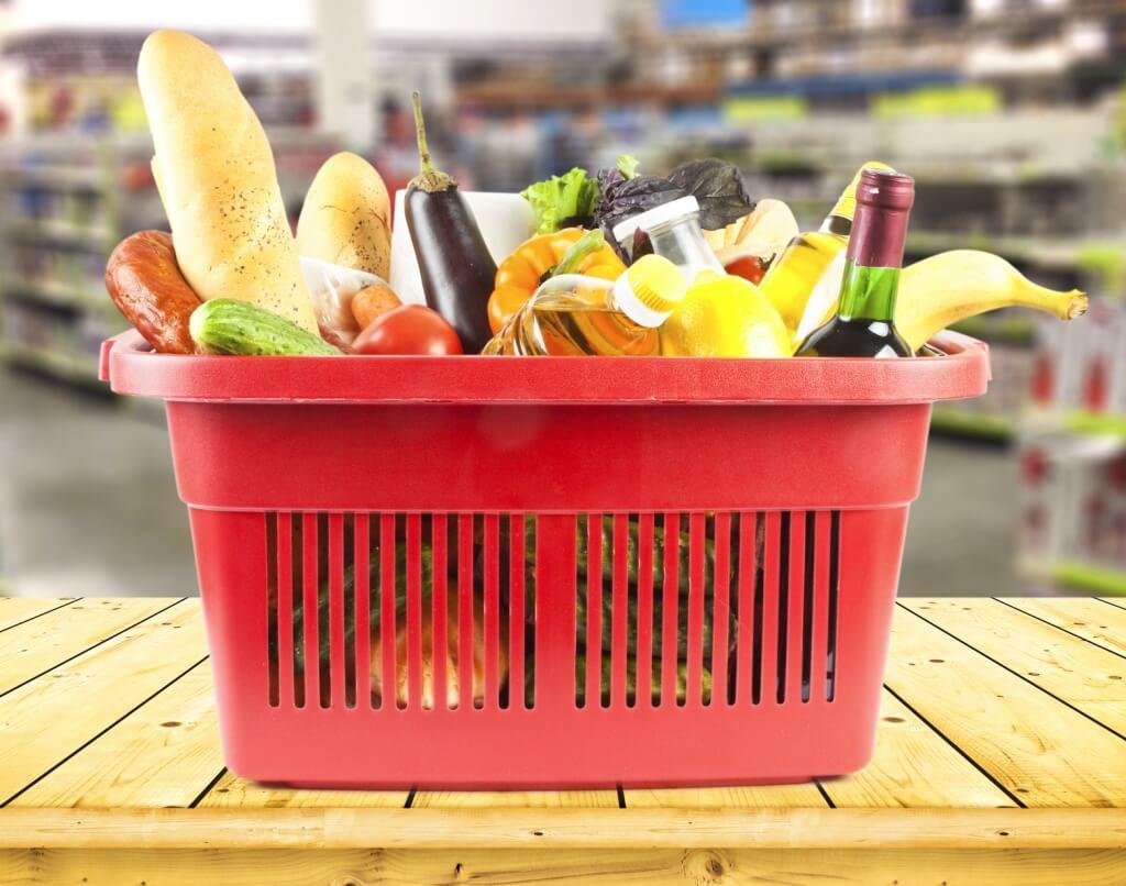 Canasto de supermercado