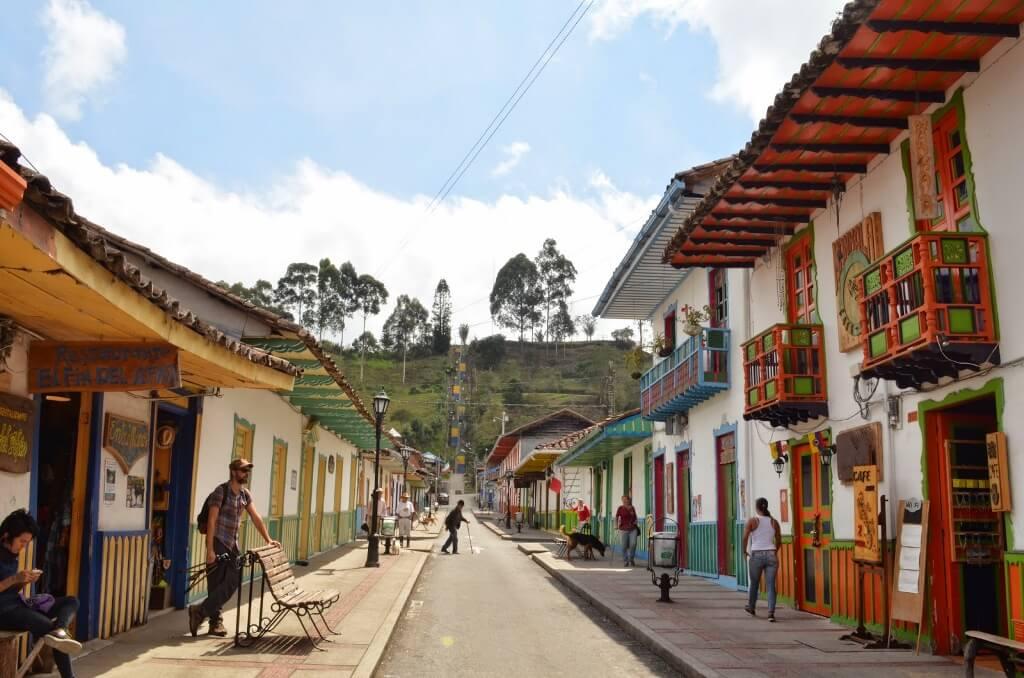 Colombia con aroma a café