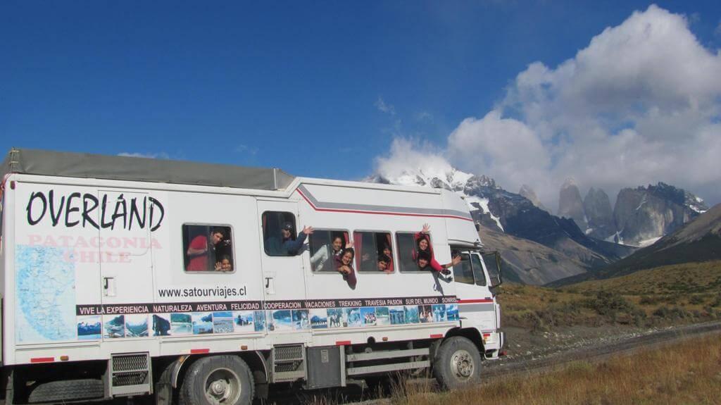 Travesía en overland por Torres del Paine