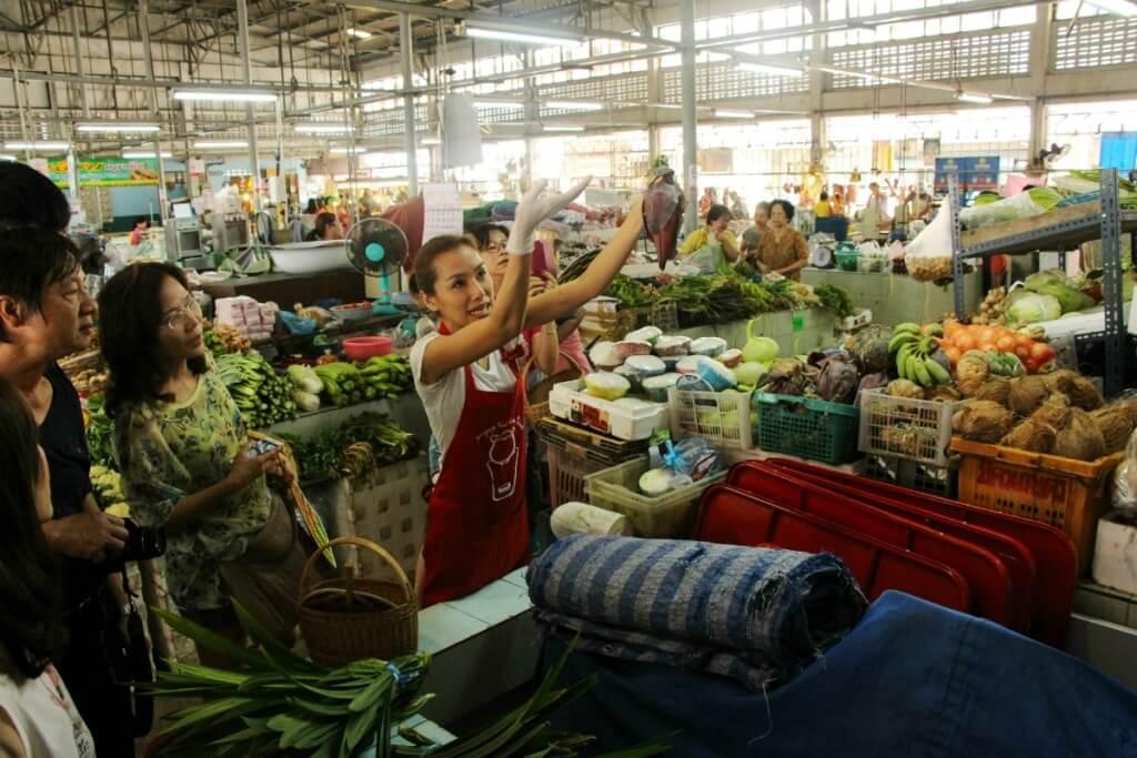Mercado de Bangkok, Tailandia