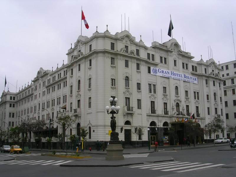 Gran Hotel Bolívar, Perú