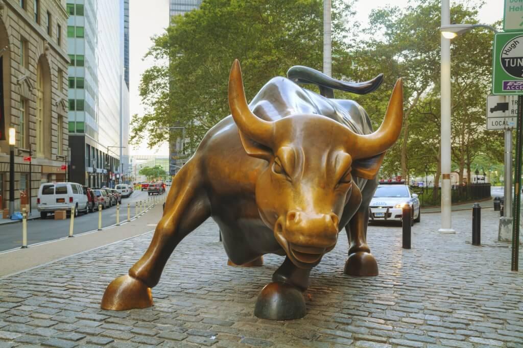 Toro de Wall Street, Nueva York, Estados Unidos