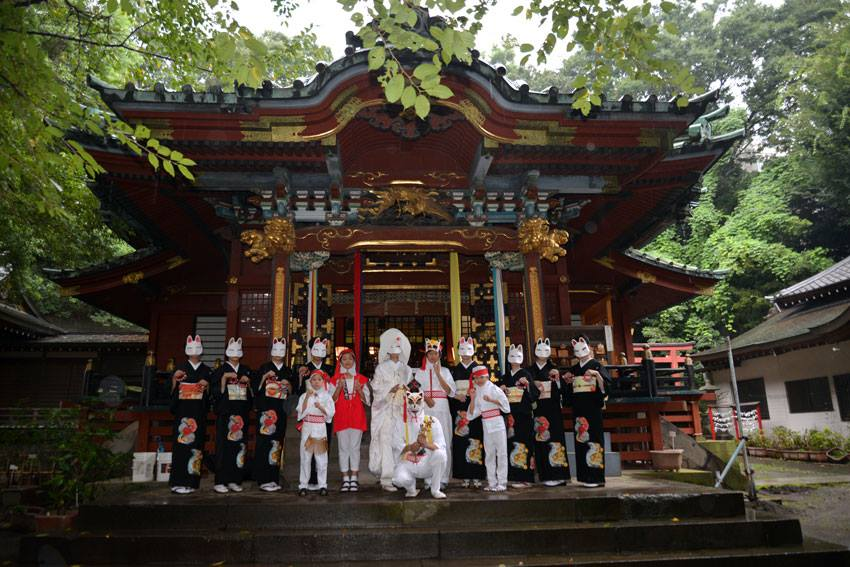 Oji Inari en Tokio, Japón