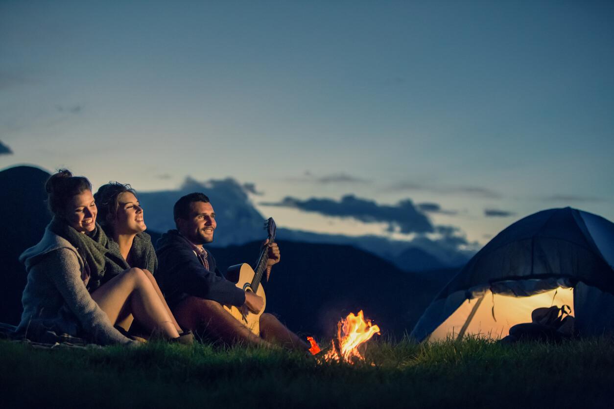 Los mejores lugares para acampar en Chile