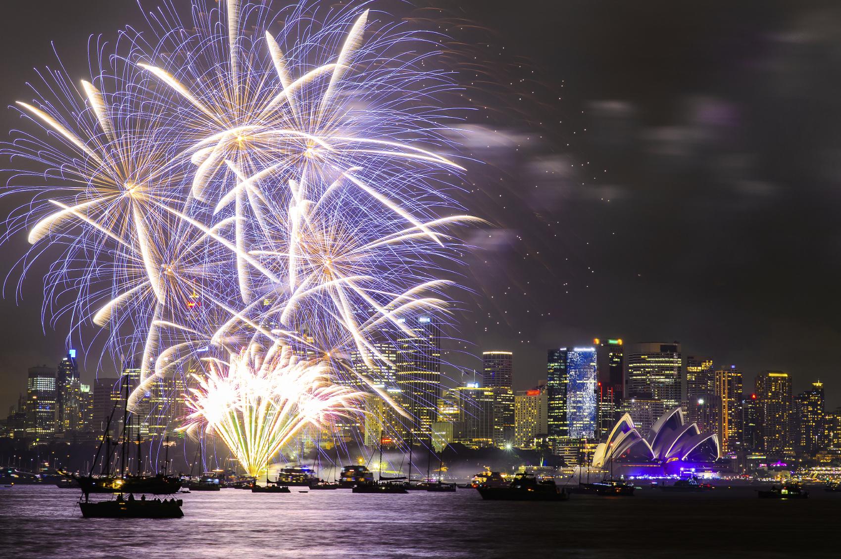 Año Nuevo en Sydney, Australia