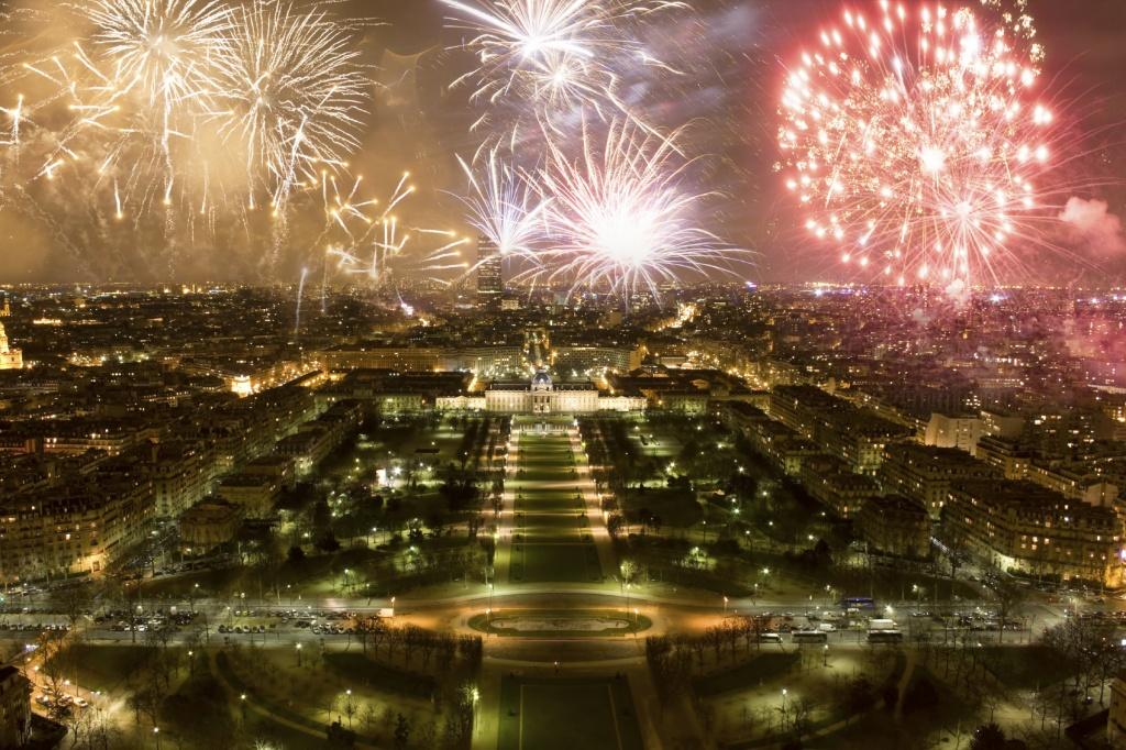 París en Año Nuevo