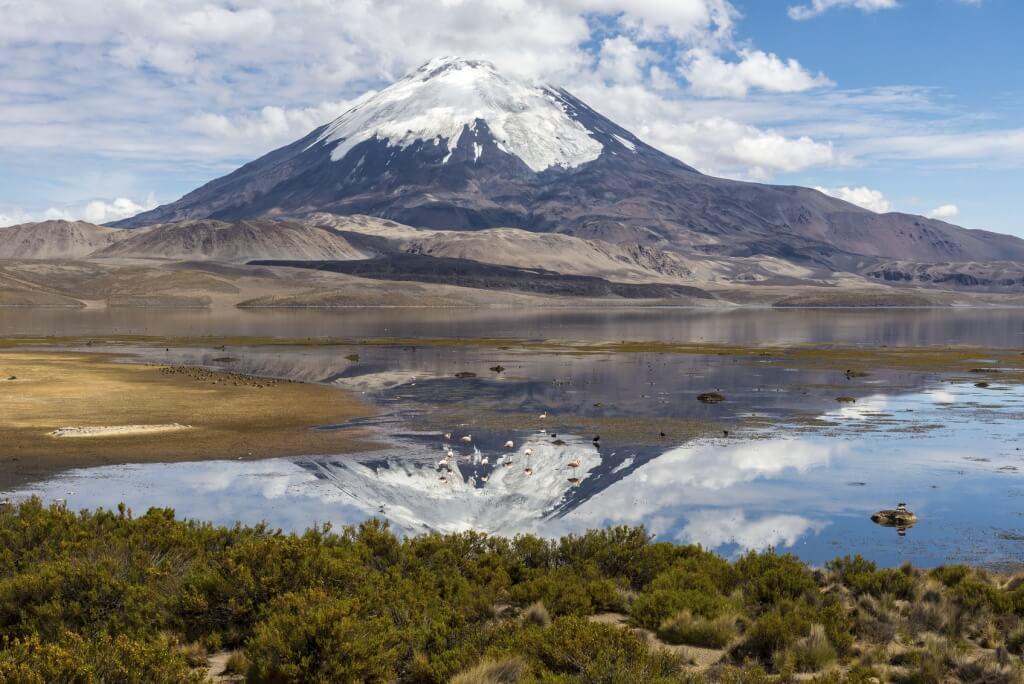 Lago Chungará, Parque Nacional Lauca, Chile