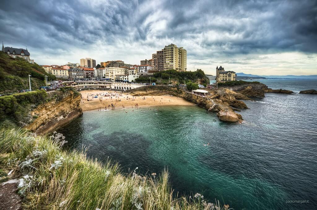 Cote des Basques, Francia
