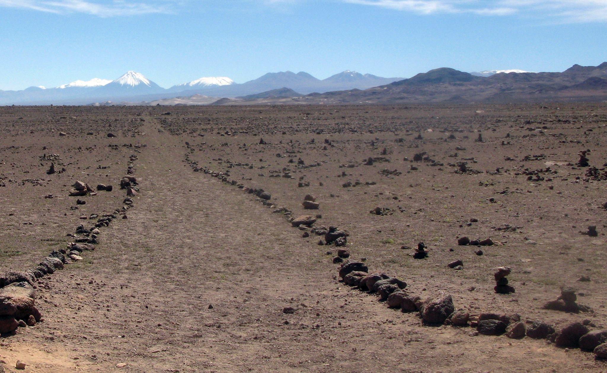Camino del Inca, Chile