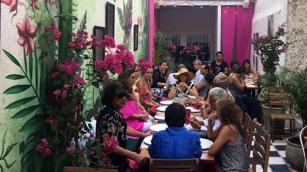 Restaurante Interno, Cartagena de Indias, Colombia