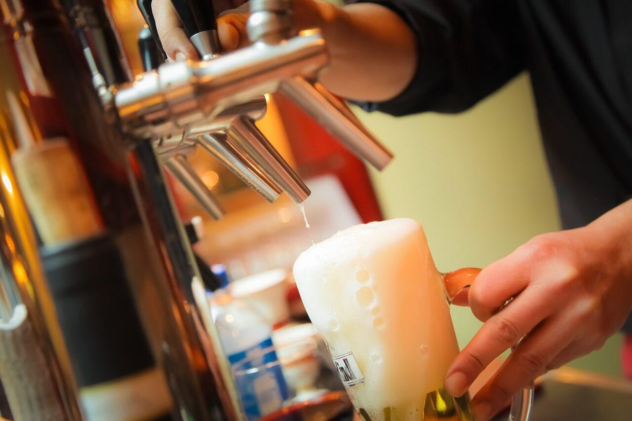 Máquina de cervezas