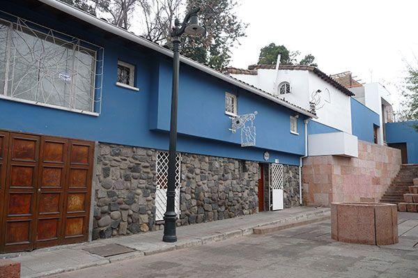 La Chascona, Santiago