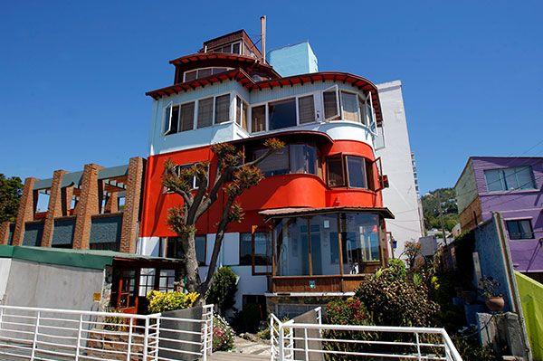 La Sebastiana, Valparaíso