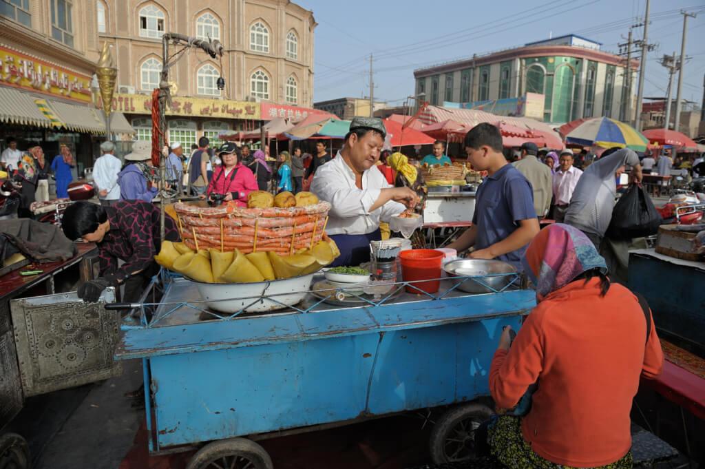 Mercado de Kasgar (China)