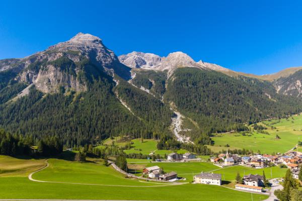 Bergün, Suiza