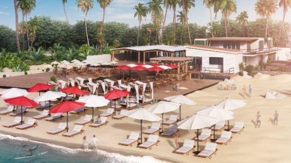 Departure Beach Virgin Holidays