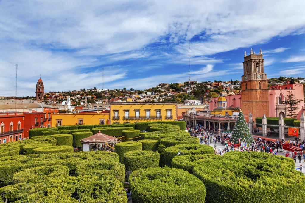 Jardín de San Miguel de Allende, México