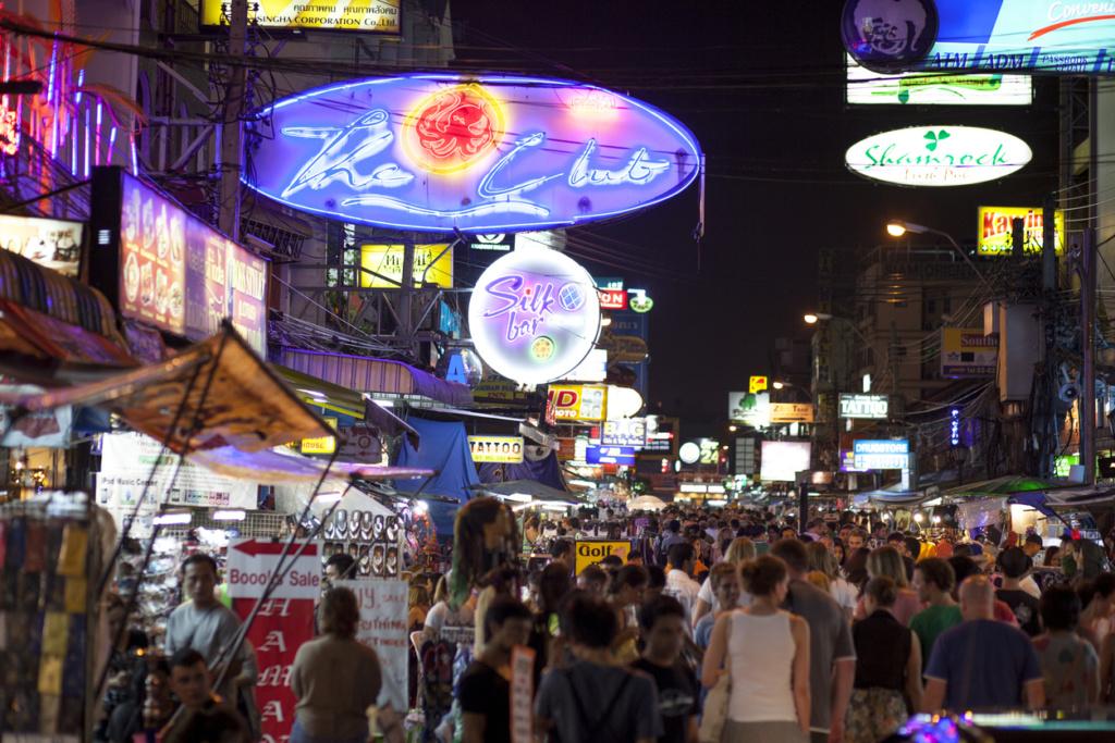 Khaosan Road, Bangkok, Tailandia