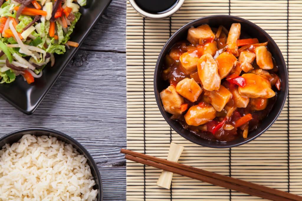 Comida asiática - Sueños viajeros