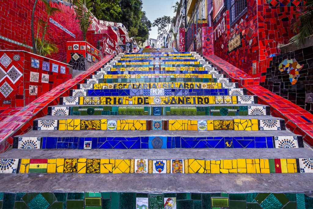 Escadaria Selaron - Sueños viajeros