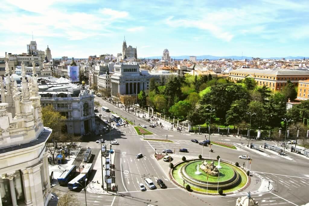 Fuente de Cibeles, Madrid, España