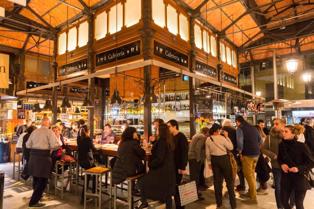 Mercado de San Miguel, Madrid, España