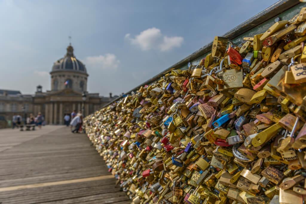 Pont des Arts, París, Francia
