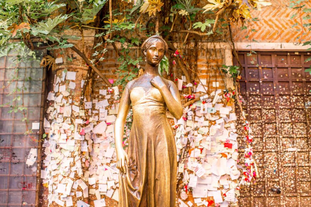 Casa de Julieta Capuleto, Verona, Italia