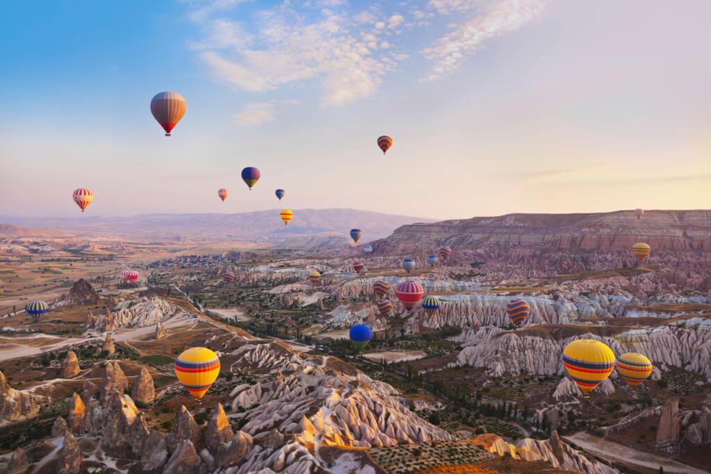 Vuelo en globo por Capadocia - Sueños viajeros