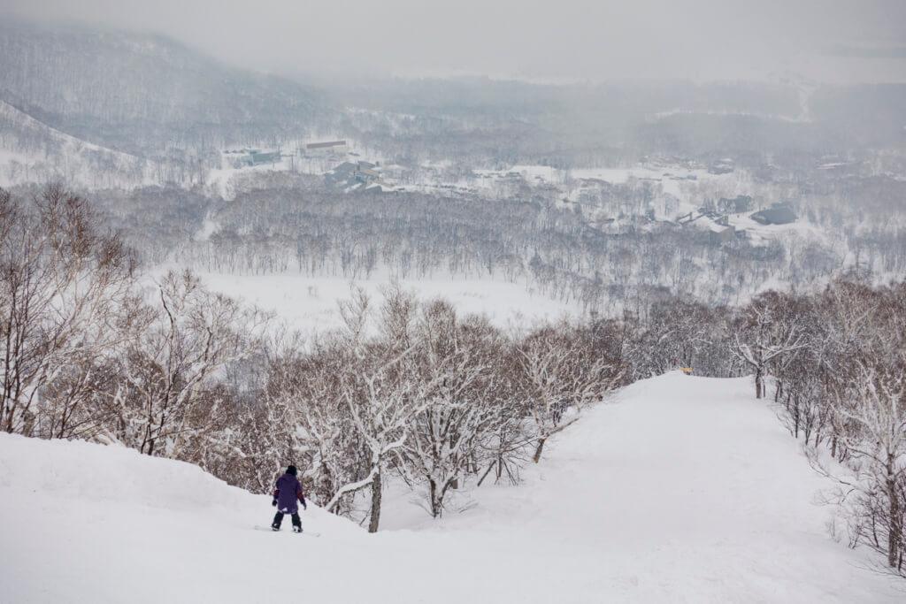 Snowboard en los centros de ski de Japón - Sueños viajeros