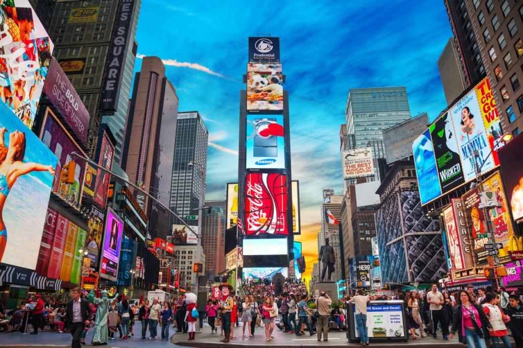 Times Square - Sueños viajeros