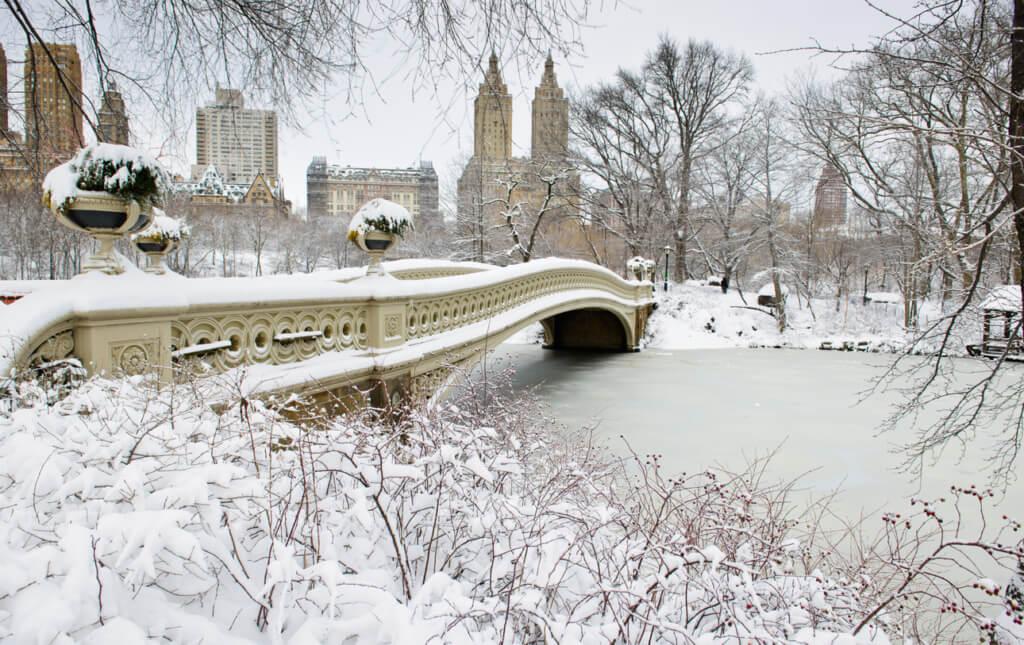 Central Park en invierno - Sueños viajeros