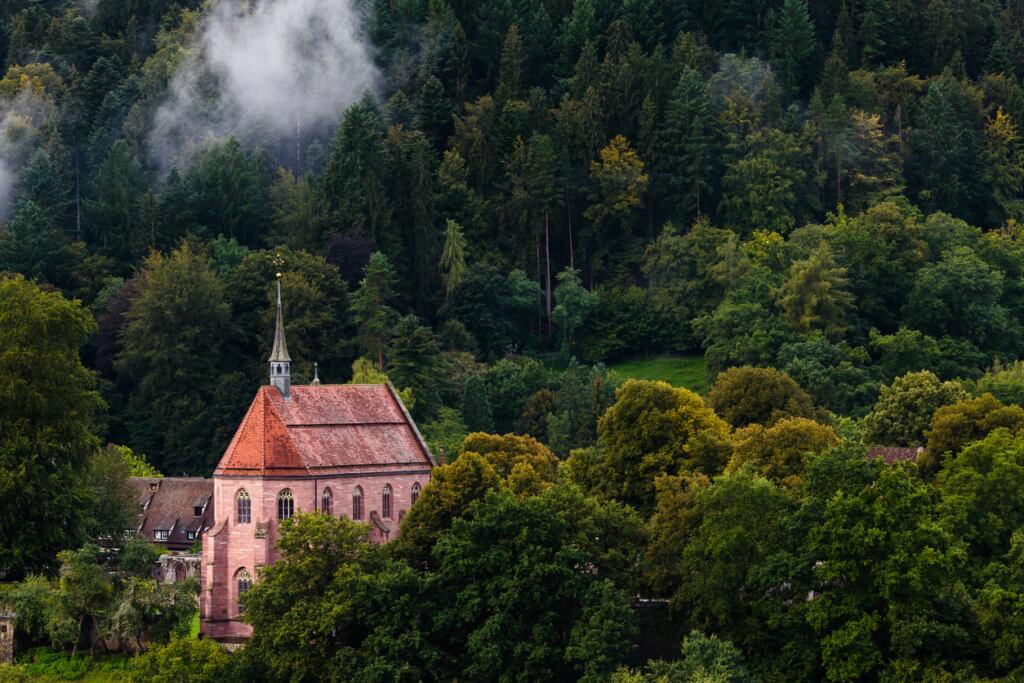 Iglesia en la Selva Negra - Sueños viajeros