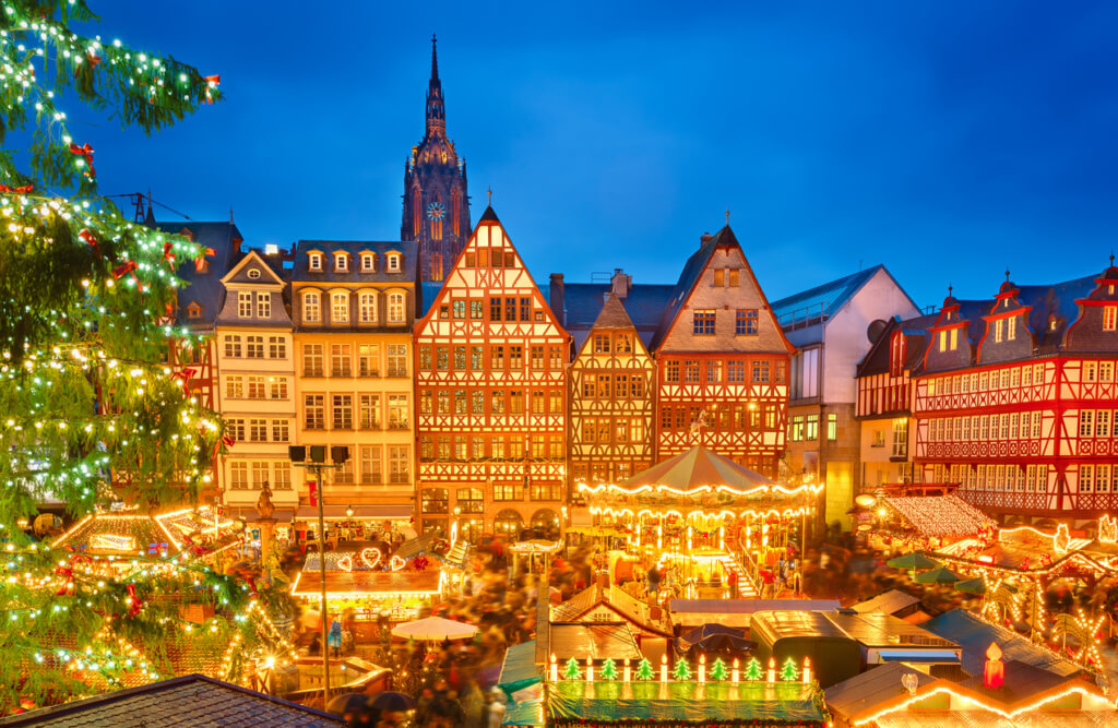 Mercado de Navidad en Frankfurt - Sueños viajeros