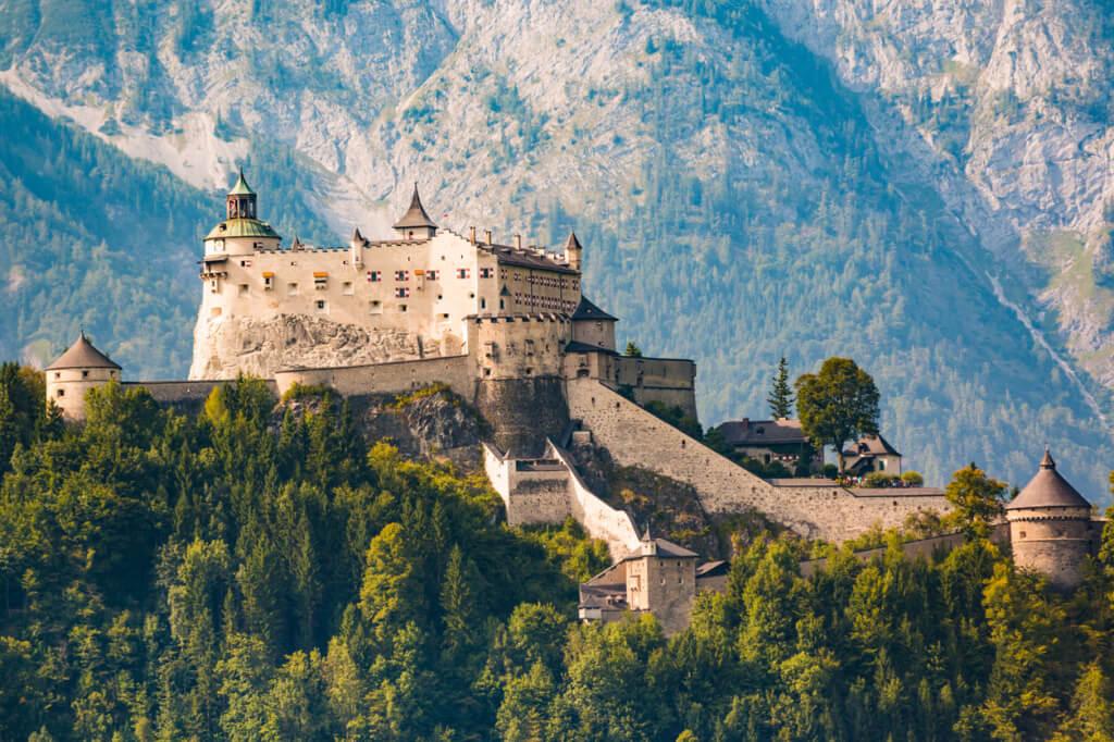 Castillo Hohenwerfen - Sueños viajeros
