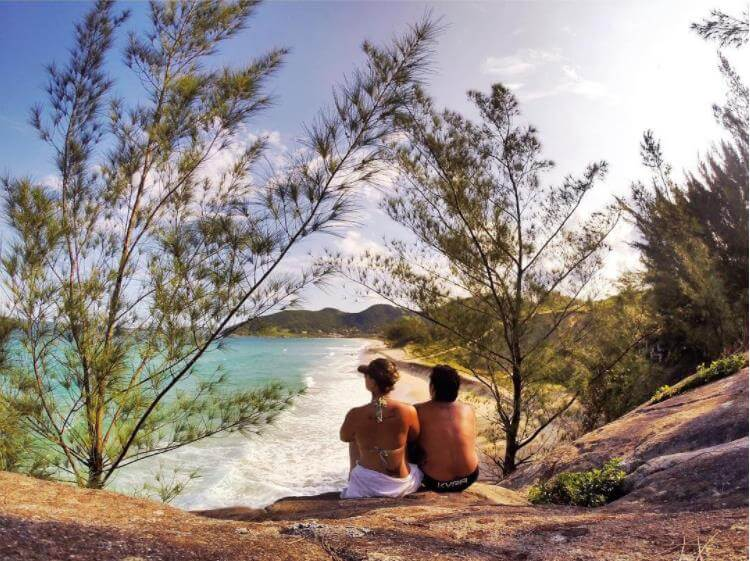 Praia do Gamboa - Sueños viajeros