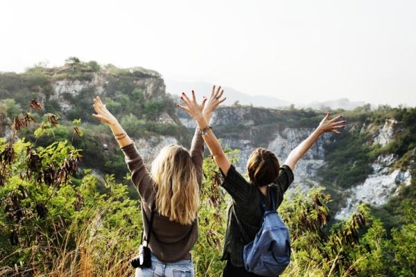 Dos mujeres viajeras - Sueños viajeros