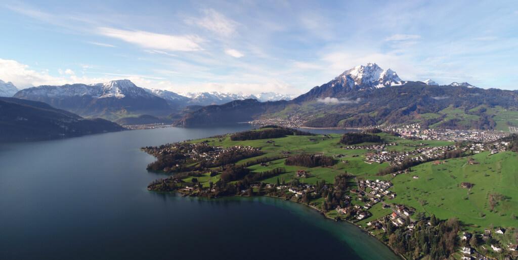 Lago de los Cuatro Cantones, Suiza - Sueños Viajeros