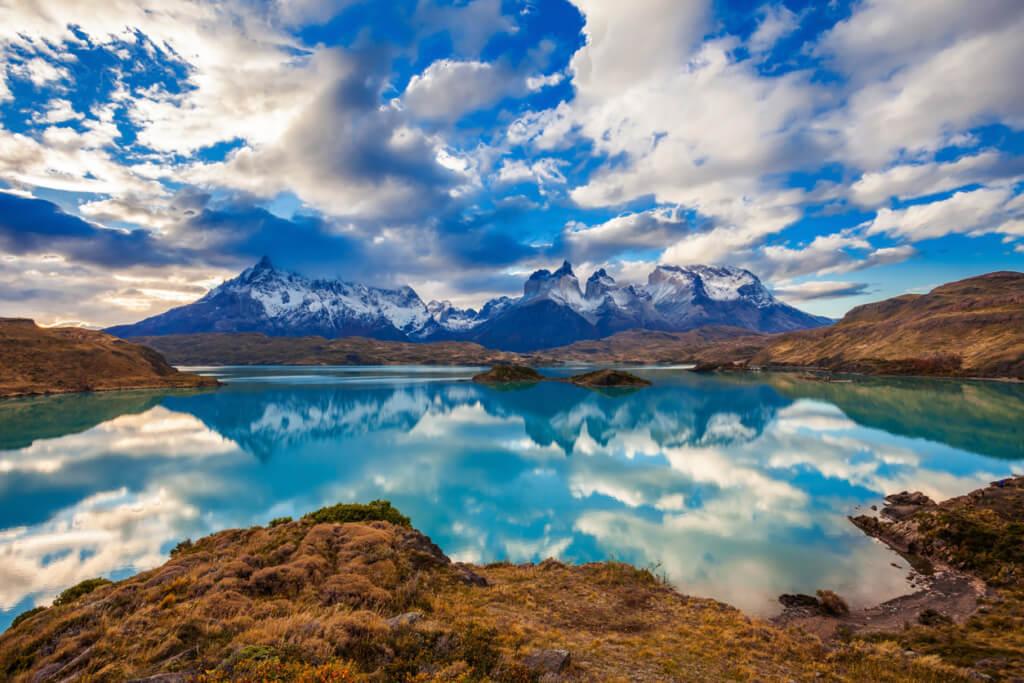 Lago Pehoé, Chile - Sueños Viajeros